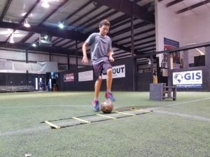 Indoor Soccer Speed and Agility Training